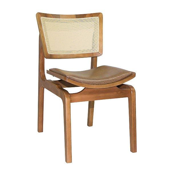 Cadeira Para Mesa de Jantar Tela Sling Veronica Corano