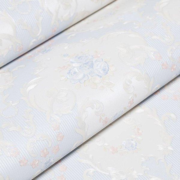 Papel De Parede Importado Vinílico Lavável Textura Em Relevo 5503