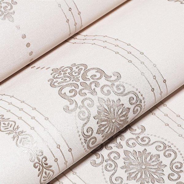 Papel De Parede Importado Vinílico Lavável Textura Em Relevo 5625