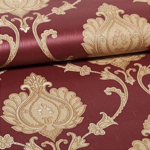 Papel De Parede Importado Vinílico Lavável Textura Em Relevo 5558