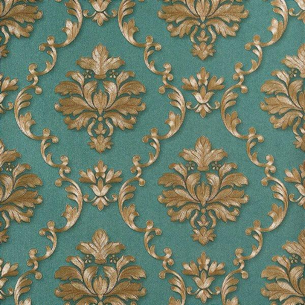 Papel De Parede Dekor Importado Vinílico Lavável Textura Em Relevo 8057