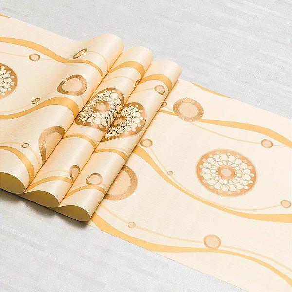 Papel De Parede Dekor Importado Vinílico Lavável Textura Em Relevo 5835