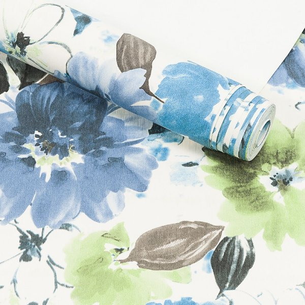 Papel de Parede Importado Vinílico Lavável Textura em Relevo Floral 90102