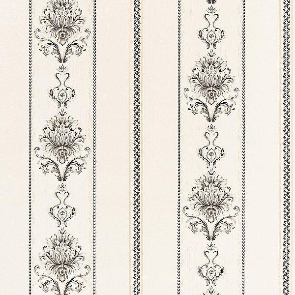 Papel de Parede Importado Vinílico Lavável Textura em Relevo Listrado 8124