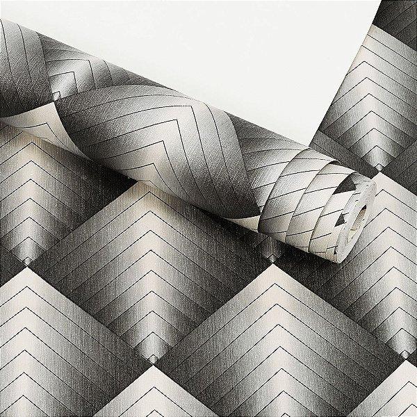 Papel de Parede Dekor 3D Importado Vinílico Lavável Textura em Relevo 33021
