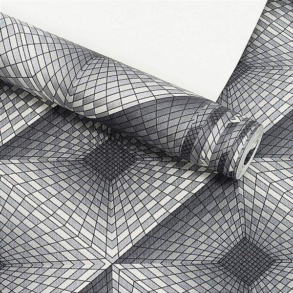 Papel de Parede Dekor 3D Importado Vinílico Lavável Textura em Relevo 33045