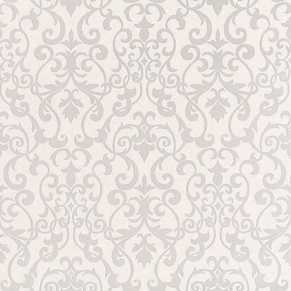 Papel de Parede Importado Vinílico Lavável Textura em Relevo Arabesco 66015