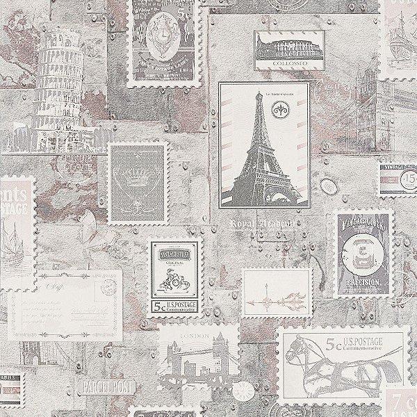 Papel de Parede Lavável Vinílico Dekor 35061 Importado 53cm x 9,5m