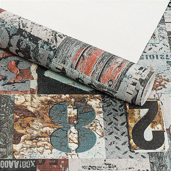 Papel de Parede Lavável Vinílico Dekor 35121 Importado 53cm x 9,5m