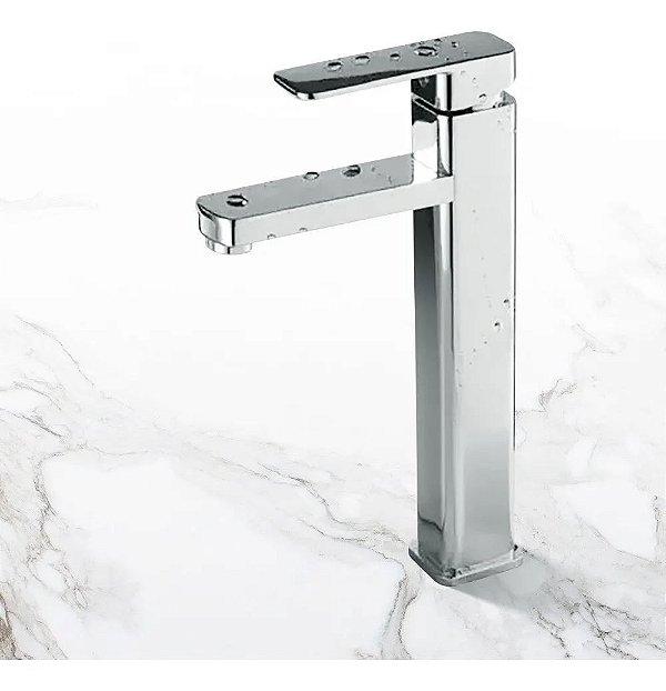 Torneira Alta Para Banheiro Com Misturador Monocomando