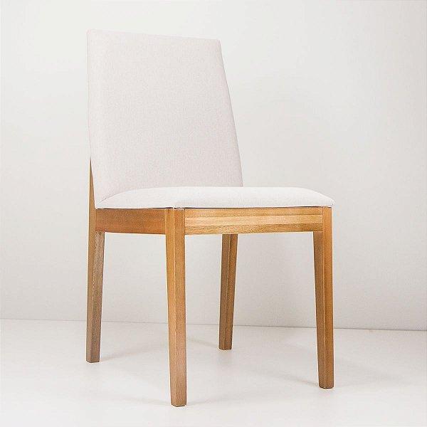 Cadeira Madeira Venus Estofada para Mesa de Jantar