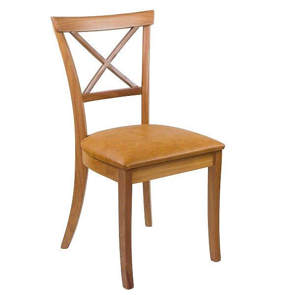 Cadeira Para Mesa de Jantar Miami Madeira Maciça Courissimo