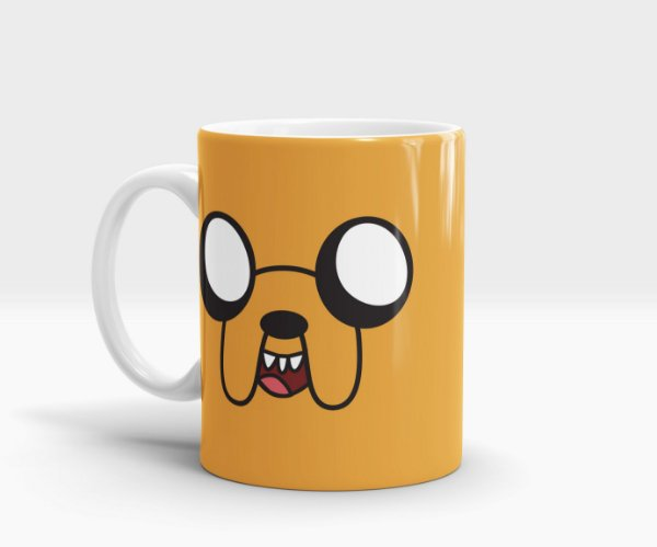 Caneca Jake - Adventure Time (Hora de Aventura)