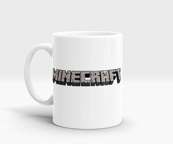 Caneca Minecraft - Creeper