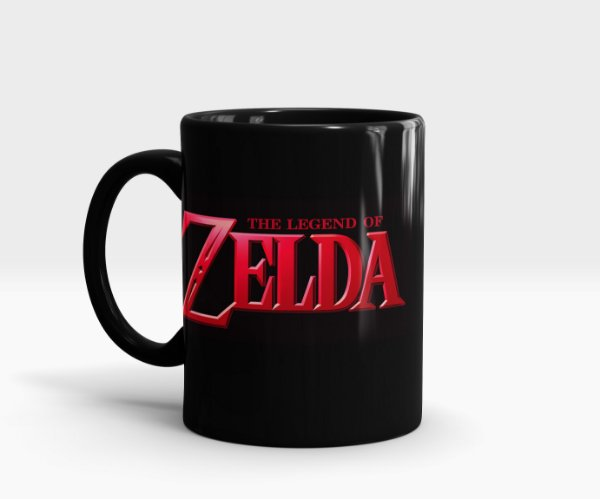 Caneca Zelda - Triforce