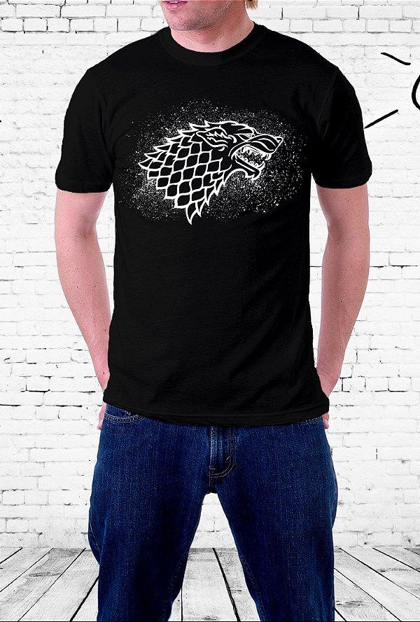 Camiseta Stark - Game of Thrones