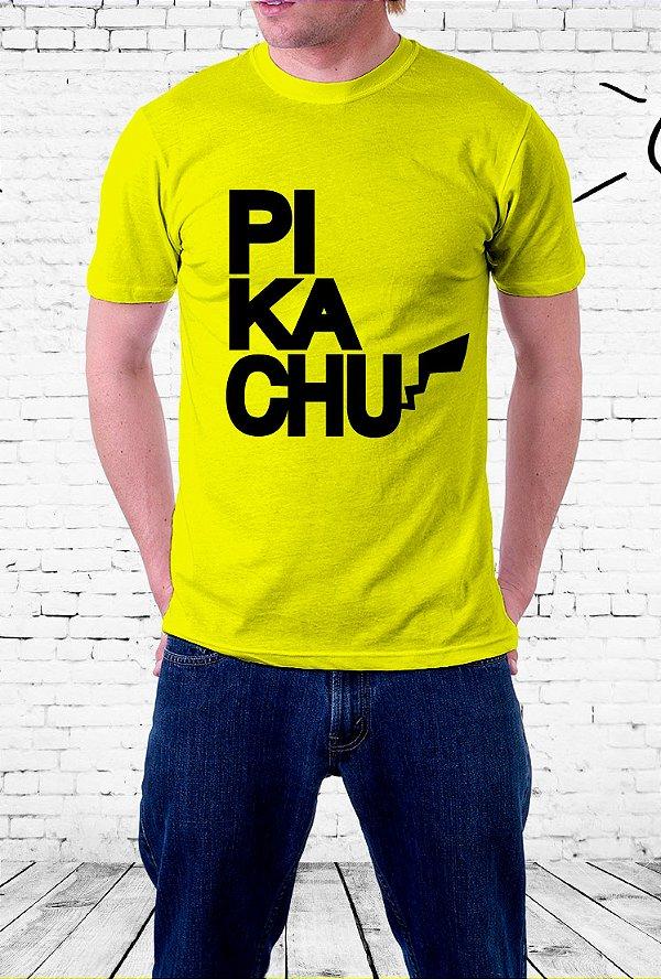 Camiseta Pikachu - Pokémon