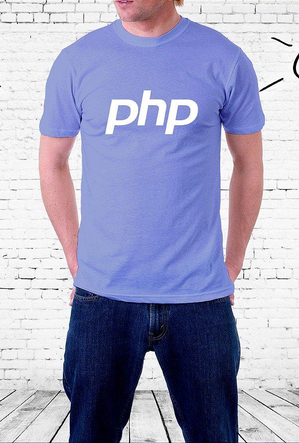 Camiseta PHP