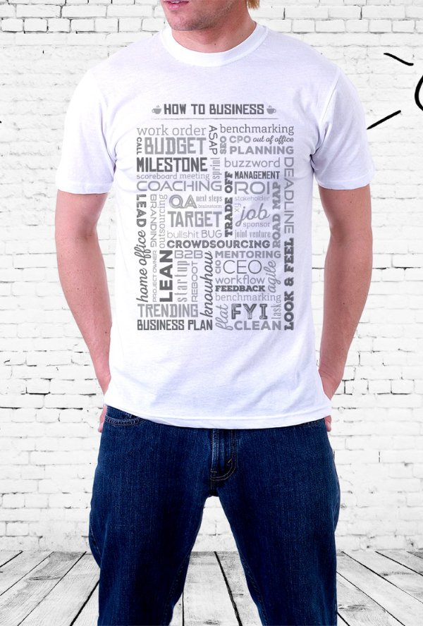 Camiseta How To Business