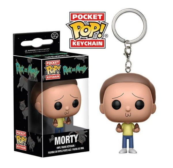 Chaveiro Funko Pop! Rick & Morty - Morty