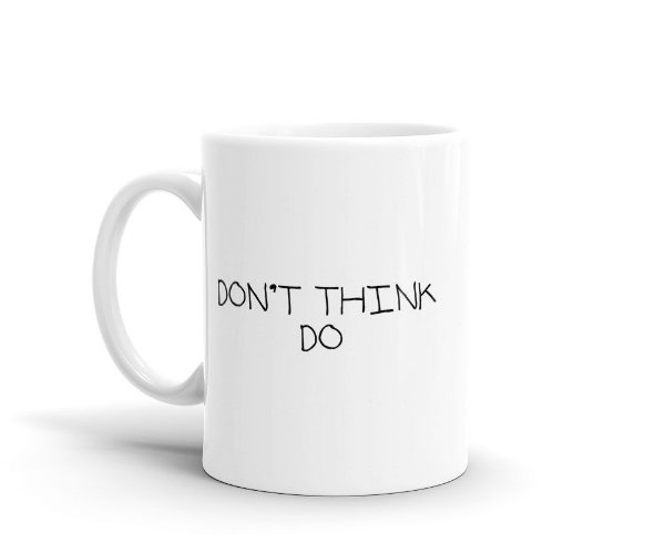 Caneca Go Horse - Don't think, do
