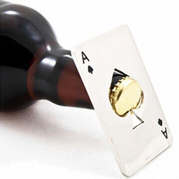 Abridor de garrafa de carta