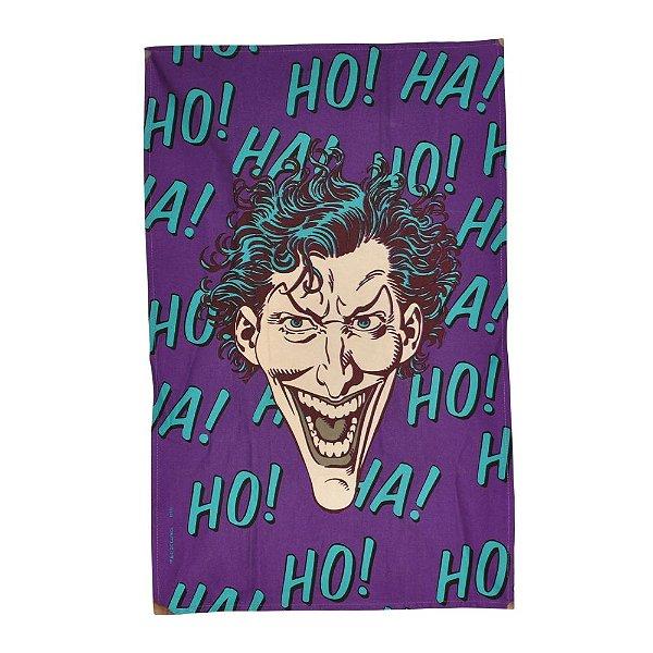 Pano de Prato de Algodão Joker HA HA HA roxo - DC Comins