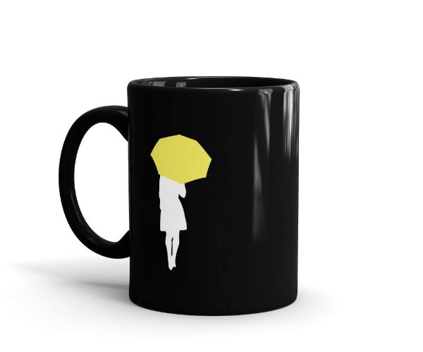 Caneca How I Met Your Mother (HIMYM) - Right Place, Right Time