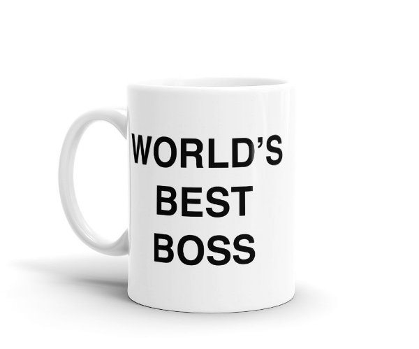 Caneca The Office - WORLD'S BEST BOSS