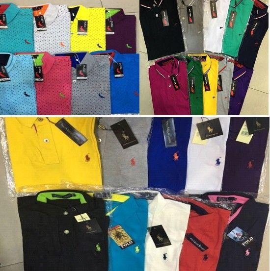 Camisa Polo Importada - 6 peças