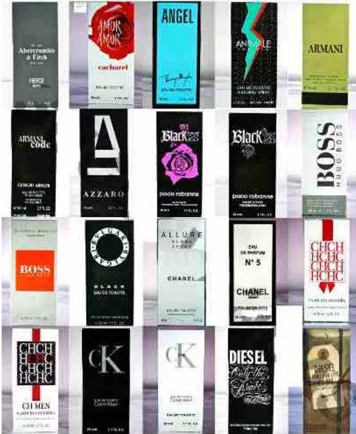 20 Perfumes Importado varias Marcas 50ml