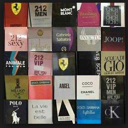40 Perfumes Importado Contratipo 100ml