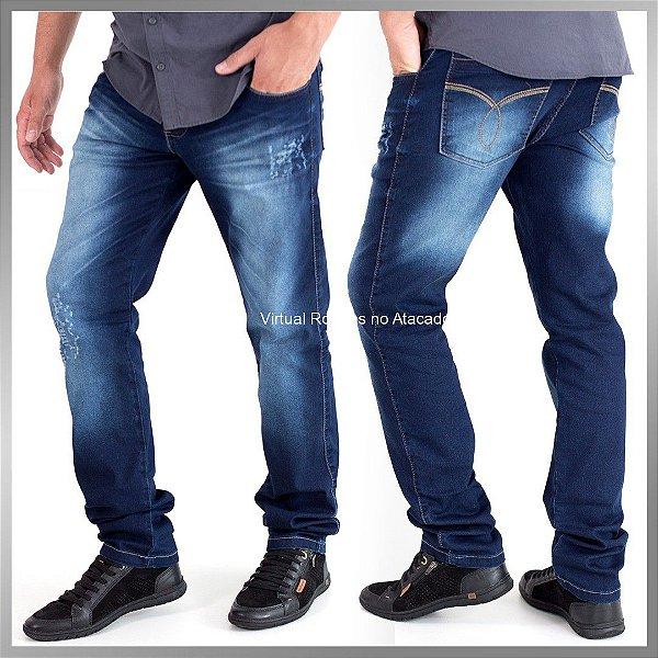 Calça jeans Masculina - 5 Peças