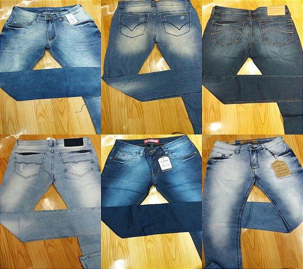Calça Jeans Masculina Original - Kit Com 5 Peças