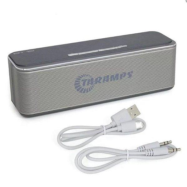 Caixa de Som Portátil Taramps Bt-12 2x8w Rms com Bluetooth e Aux P2