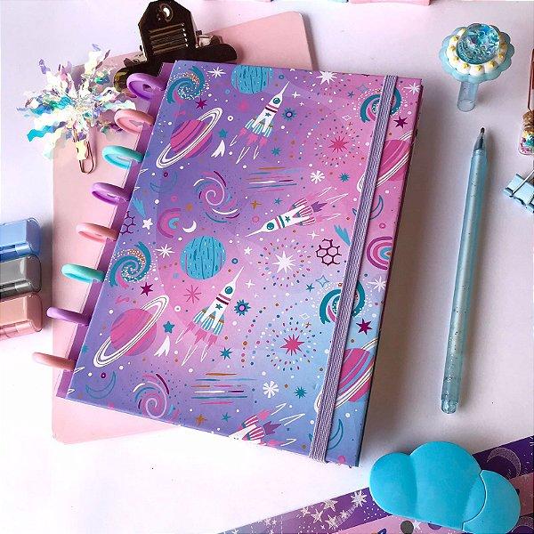 Caderno de disco Espacial
