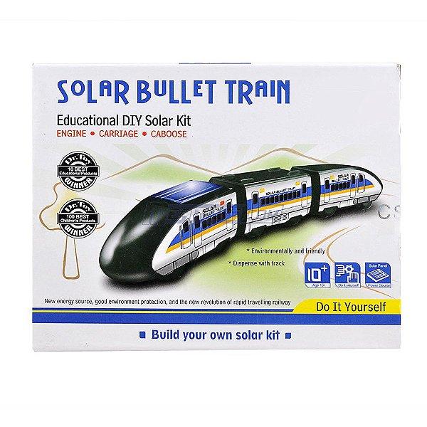 Trem-bala Educacional - Energia Solar - DIY