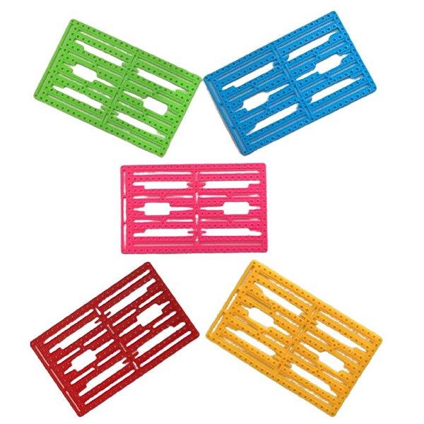 Base Plástica para Projetos - DIY - 12,5 x 8cm