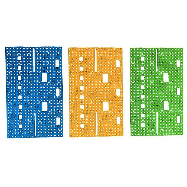 Base Plástica para Projetos - DIY - 14 x 8,5cm