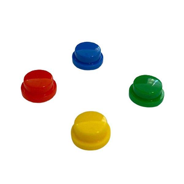 Capa Redonda para Push Button