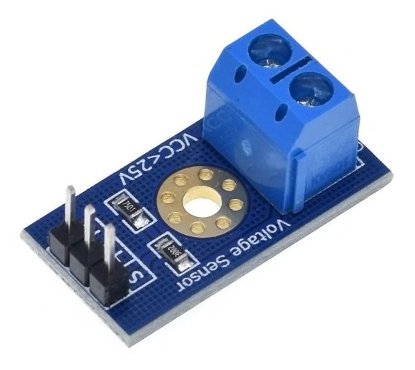 Módulo Sensor de Tensão 0-25V DC