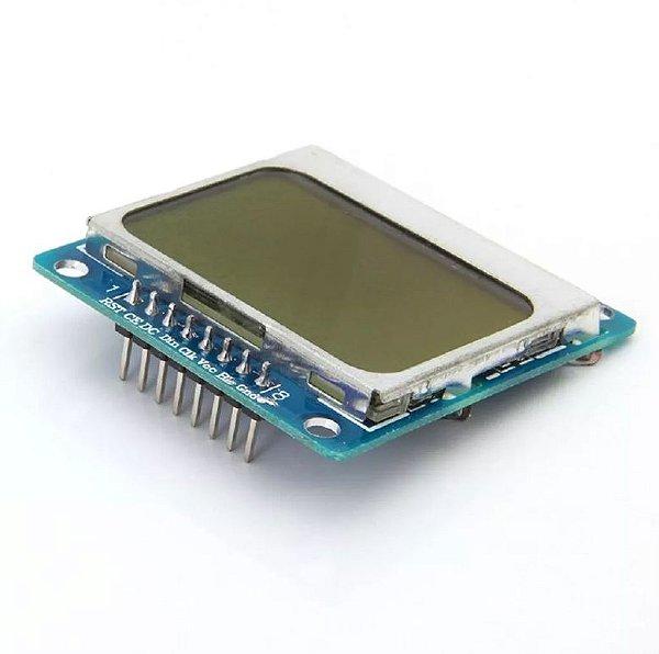 Display LCD Nokia 5110 Azul