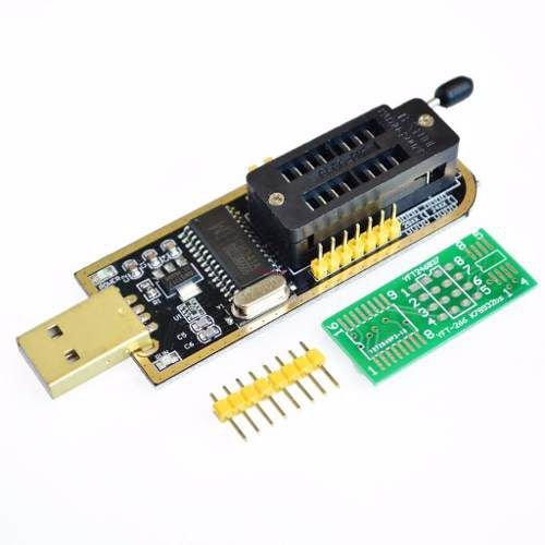 Gravador USB EEPROM Bios CH341 SPI Flash
