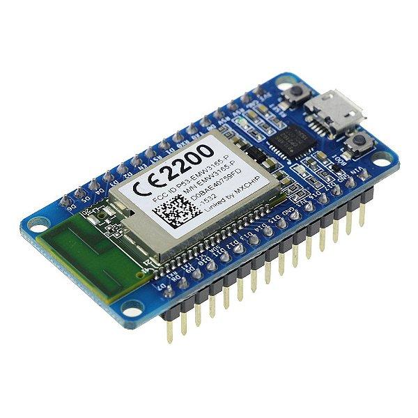 Módulo WiFi MCU EMW3165 - Placa de Desenvolvimento