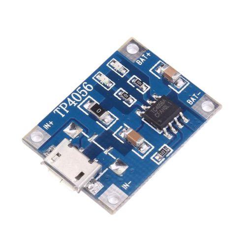 Módulo Carregador de Baterias de Lítio TP4056 - MICRO USB