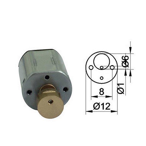 Mini Motor de Vibração 1.5-3V DC