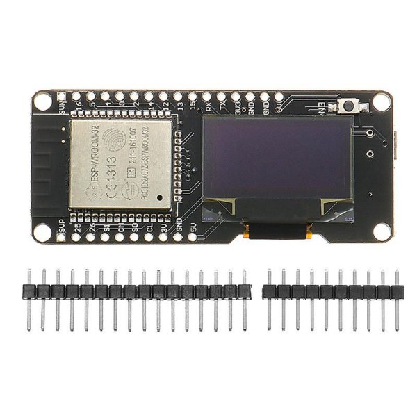 Módulo ESP32 Lolin - WiFi + Bluetooth + Display OLED
