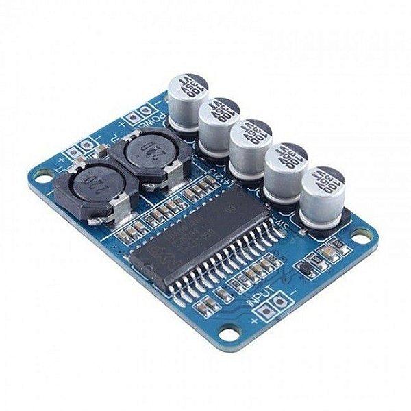 Módulo Amplificador de Áudio 35W - TDA8932