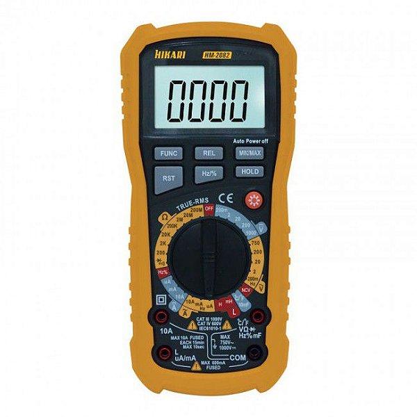 Multímetro Digital Hikari HM-2082