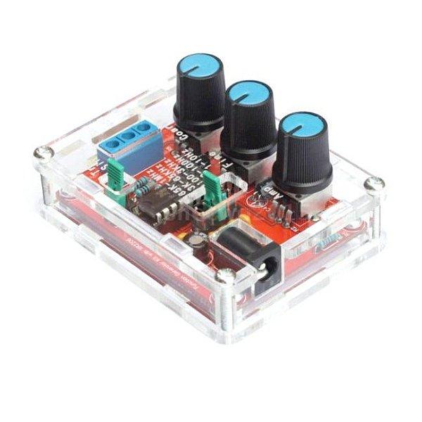 Kit Gerador de Sinais/Funções XR2206 1Hz-1MHz - DIY